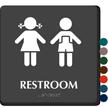 Restroom Boys Girls Pictogram Sign