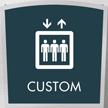 Apex Custom Regulatory Sign, 8.625