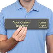 Personalized Glowing Engraved Choose Clipart Sign