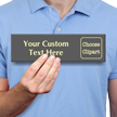 Personalized Engraved Glowing Sign