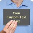 Custom Glowing Engraved Sign