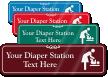 Diaper Station Symbol Sign