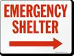 Emergency Shelter (Arrow Right)