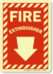 Fire Extinguisher Glow Sign onmouseover =