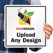 10 in. x 10 in. Customized Sign Template