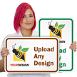 12 in. x 18 in. Customized Sign Template