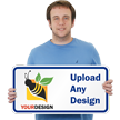12 in. x 24 in. Customized Sign Template