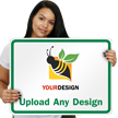 18 in. x 24 in. Customized Sign Template