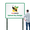 48 in. x 60 in. Customized Sign Template