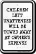 Funny Children Safety Sign