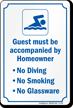 Community Pool Sign