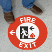 Fire Exit, Left Arrow
