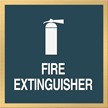 Fire Extinguisher, with Graphic