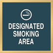 Designated Smoking Area, with Graphic