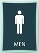 Men Bathroom, Men Sign