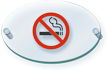 No Smoking Symbol ClearBoss Sign
