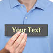 Customizable Engraved Text Symbol Glow Sign