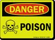 Glowing Danger Sign