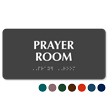 Prayer Room Tactile Touch Braille Sign