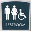 Apex Regulatory Unisex Handicap Braille Sign