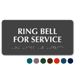 Ring Bell For Service Tactile Touch Braille Sign