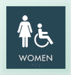 Women w/F/ISA Symbol Sign