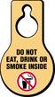 Do Not Eat Drink Smoke Hang Tag