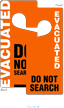 Evacuated Two Sided Door Hang Tag