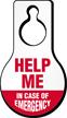 Help In Case Of Emergency Hang Tag