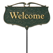 Welcome Garden Accent Sign