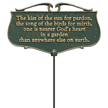 Nearer Gods Heart In a Garden Accent Sign