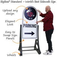 Custom BigBoss Pro Sign