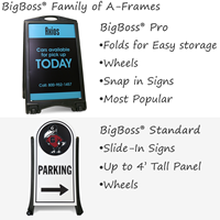 Custom Sandwich Board and Sidewalk Signs