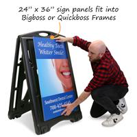 Custom Standard Sign Panel