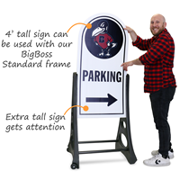 Custom Sidewalk Signs