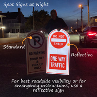 Custom reflective signs