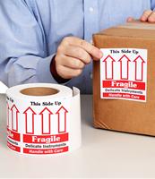 Fragile Delicate Instruments Labels