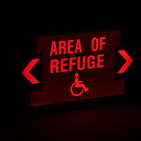 Area Of Refuge LED Exit Sign