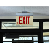 Acrylic Red Exit Sign