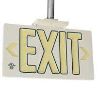 50 feet Visbility Exit Sign