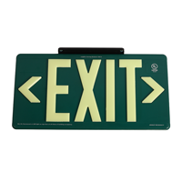Eco Plastic Exit Sign