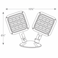LED Remote Lamp Head, Weatherproof