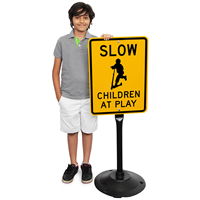 Children at Play Signs & Post Kit