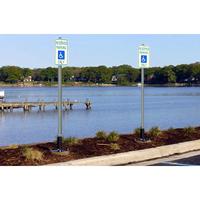 FlexPost® Sign Post - Concrete Model
