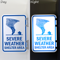 Weather Shelter Sign