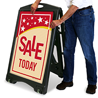 Sale Today A-Frame Portable Sidewalk Sign
