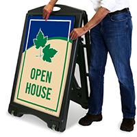 Open House Sidewalk Sign