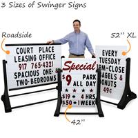 Deluxe XL Swinger Sidewalk