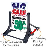 Rolling Swinger Marker Board