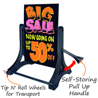 2-Sided Portable Rolling Swinger